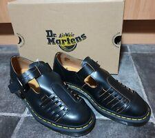Dr Martens Mica Black Vintage Smooth Leather Sandal UK9 US10 EU43 AW501 AirWair!