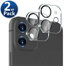 2x Kamera Schutz für iPhone 11 12 Pro Max Mini Linsen Schutz Glas Camera Linse