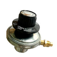 Home Propane Gas Tanks Regulator Valve Adjustable Low Pressure Gauge Nozzle
