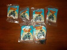 1997 KFC Complete Set of 6 Saban's Masked Riders, New (A05)