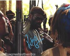 BRITISH ACTOR IDRIS ELBA SIGNED BEASTS OF NO NATION 8X10 PHOTO W/COA LUTHER