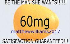 30 X 60 mg Genuine Sex Endurance Hard Erection Yellow Pills - UNBEATABLE PRICE!!
