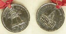 """Medal:1876 Philadelphia Centennial """"Baby Bell"""" w/Orig. Ribbon"""