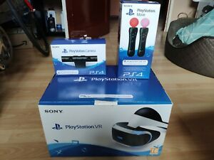 PS VR, camera and move controllers - boxed