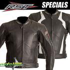 RST Blade Motorcycle Leather Mens JACKET Motorcycle Road Bike Coat RRP $399.95