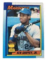 1990 Topps Allstar Rookie #336 Ken Griffey Jr Rare Error Baseball Card Near-Mint