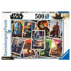 Ravensburger 500 Piece Puzzle The Mandalorian In Search of The Child Star Wars