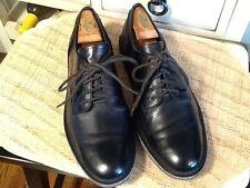 Born Wavz Black Leather Lace Up Oxford Casual Shoes Sz US/ Sz 10/ 43