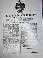 REGNO DELLE DUE SICILIE FERDINANDO IV AMATI E FEDELI POPOLI DI SICILIA(COPY)1800
