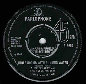 """NORTHERN SOUL / 60's - CLIFF BENNETT - THREE ROOMS OF RUNNING WATER - UK  """"HEAR"""""""