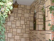 7 Stampi cemento matrice Forma Rivestimento Effetto pietra finta pietra fai te