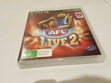 AFL live 2 ps3 game good condition playstation australia