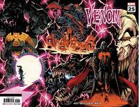 VENOM #25 (Ryan Stegman 2nd Print Wraparound Variant) Comic Book ~ Marvel Comics