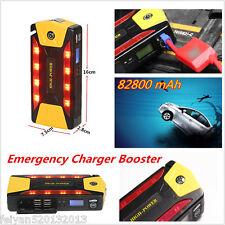 82800 mAh 4USB Car Jump Starter Emergency Charger Booster Power Bank Battery SOS