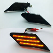 2x Dynamic Flowing LED Side Marker Turn Signal Lights For Subaru BRZ Scion FRS