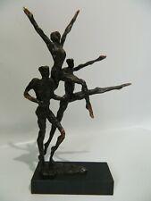 Bronzefigur Skulptur Figurengruppe N004