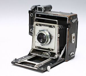 GRAFLEX CROWN GRAPHIC 4X5 FILM CAMERA + EKTAR 127mm f/4.7 lens