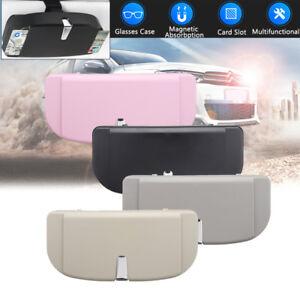 Universal Auto Sun Visor Clip Holder ABS Storage Box Mount Car