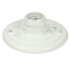 (50 pc) Plastic Keyless Ceiling Lampholder Fixture 2 Terminal Contractor Case
