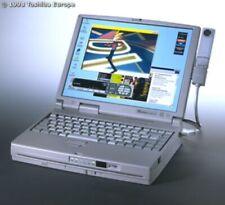 Vintage Toshiba Tecra 750DVD Pentium MMX 6GB Notebook Computer Windows 95