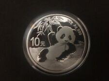 2020 China Silver Panda coin 30 gram .999 Fine 10 Yuan Chinese in Capsule