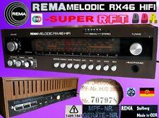 StereoRadio REMA MELODIC RX46HIFI RFT DDR VEB Stollberg LW,MW,KW,UKW Holzgehäuse