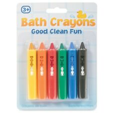 Bath Crayons - Fun Tobar Time Pencil Chalk 6 Kids Toy