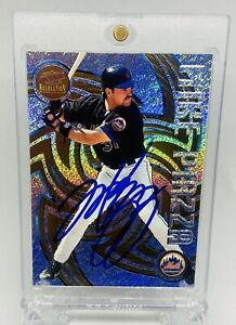 Pacific Revolution 1998 Mike piazza signed card auto Mets Dodgers MLB HOF