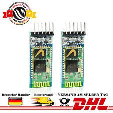 2 Stück HC-05 Wireless Bluetooth RF-Transceiver Modul Original Chip für Arduino