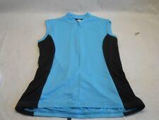 Womens Canari Sleeveless Cycling Jersey Size L Aqua Blue