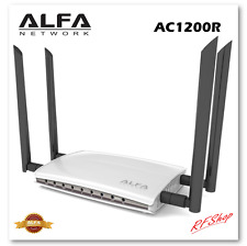 Alfa AC1200R 1200Mbps Wireless AC High Power Wide-Range Wi-Fi Router