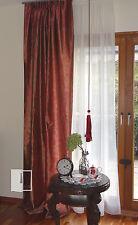 Vorhang Gardine klassisch Flächenvorhang weinrot  schalldämmend 1,40x2,45