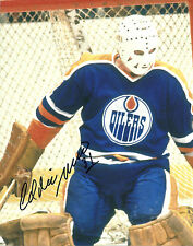 Eddie Mio Hand Signed 8x10 Photo Edmonton Oilers Stanley Cup Autograph Hockey