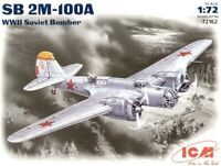 ICM 72162 - 1/72 SB 2M-100A Soviet Fighter, plastic scale model kit