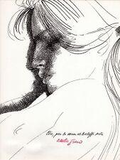 """litografia Emilio Greco """"Clio"""""""