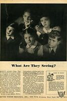 1944 Better Vision Institute Vision For Victory Print Ad