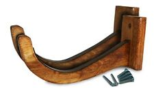 Surfboard Wall Rack / Longboard Wall Rack - Wooden Single - by COR Surf