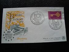 FRANCE - enveloppe 5/5/1968 (journee de l europe) (cy19) french