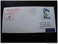 TAAF lettre 6/2/82 - timbre - yvert et tellier aérien n°69 (cy4)