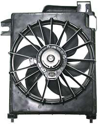 2002 03 04 2005 06 Dodge Ram Pickup 1500 2500 3500 New AC Condenser Cooling Fan