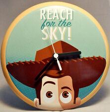 Hallmark Wall Clock - Reach For The Sky! - Woody - Toy Story - Disney Pixar