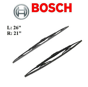 2PCS BOSCH FRONT L&R Direct Connect Wiper Blade For ACURA MDX 2007-2013