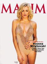 """Yvonne Strahovski Poster 24""""x36"""" #01 Maxim Cover"""