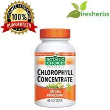 CHLOROPHYLL CONCENTRATE LIVER DETOX DIGESTION ANTIOXIDANT SUPPLEMENT 60 SOFTGELS