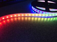 66 LEDs/m, 1M APA102 RGB LED strip, IP67, Individually Addressable!