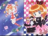 st SAINT TAIL LISA E SEYA nakayoshi 1996 megumi tachikawa POSTCARDS