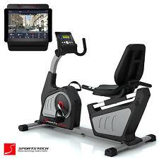 Sportstech ES600 recumbent Exercise Bike Power Generator Tablet Holder Pulse
