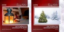 """2 CDs """"Die schönsten Weihnachtslieder"""" (Vol. 1 & 2), instrumtale Weihnachtsmusik"""