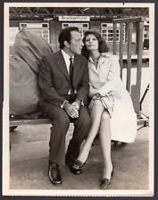 SOPHIA LOREN & RICHARD BURTON 1974 TV Movie Noel Coward VINTAGE ORIG PHOTO 7x9