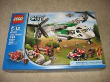 LEGO City 60021 Cargo Heliplane Logging Wheeler Figures BRAND NEW SEALED